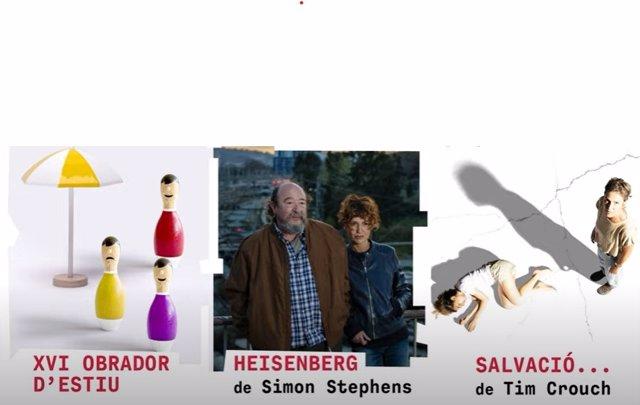 Imatge del programa del mes de juliol de la Sala Beckett de Barcelona
