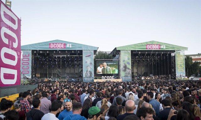 Archivo - Un concierto del DCODE Festival 2018.