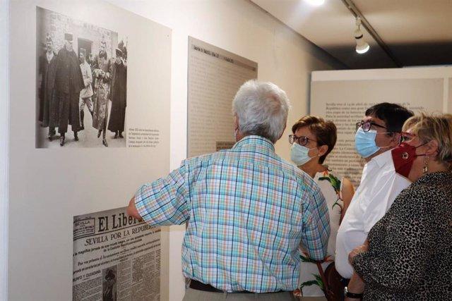 Un vídeo recordará permanentemente la exposición 'El Golpe. 80 años (1936-2016)' que se colgará en el apartado de Memoria Democrática de la web del Ayuntamiento de Alcalá de Guadaíra.