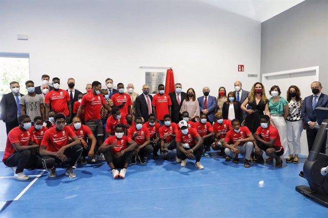 Inaugurado el centro deportivo Alejandro Blanco, primer polideportivo para refugiados del mundo