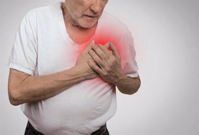 Archivo - Dolor, infarto, enfermedad cardiaca