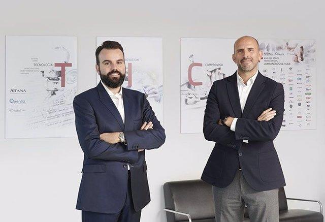 Jorge Torres, director general, y Daniel Segarra, director ejecutivo
