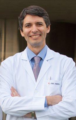 Archivo - El doctor responsable del Área Covid de la Universidad de Navarra, Alejandro Fernández Montero
