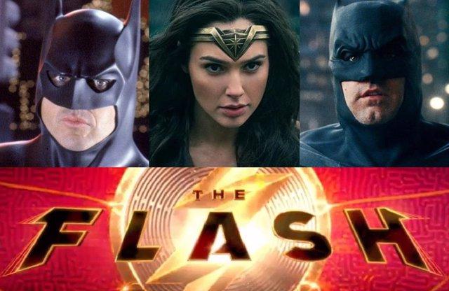Filtrado un vídeo de The Flash que adelanta la aparición de un tercer Batman... ¿Y de Wonder Woman?
