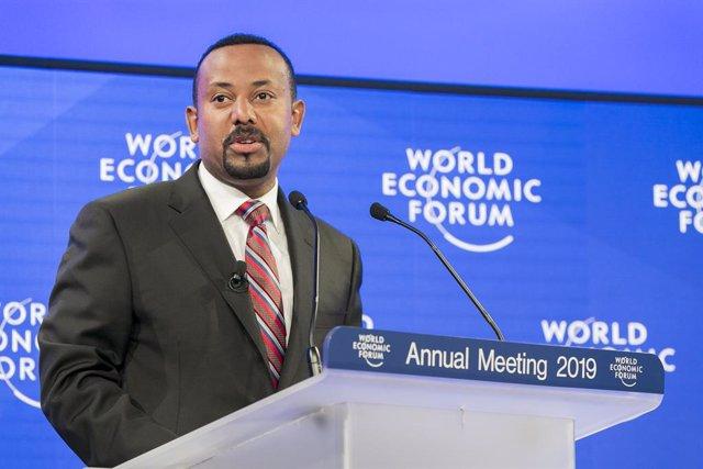 Archivo - Abiy Ahmed, primer ministro etíope