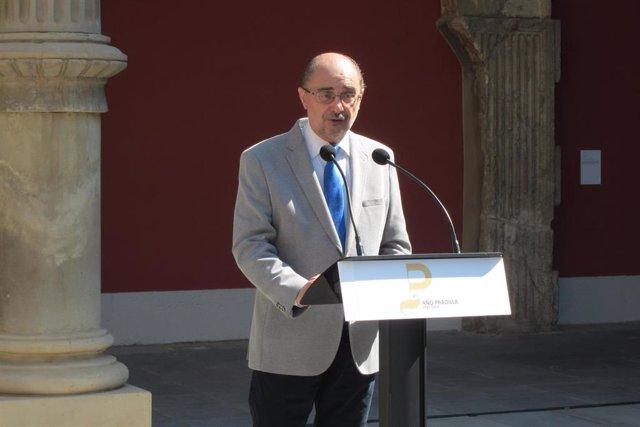Archivo - El presidente de Aragón, Javier Lambán (Foto de archivo).