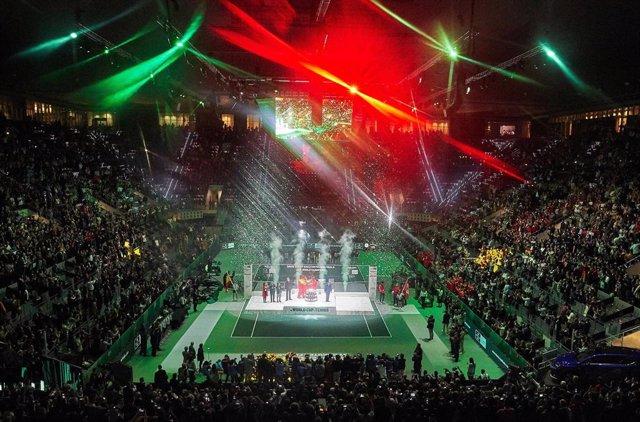 Más de 20 000 entradas se han vendido para las finales de la Copa Davis de 2021.