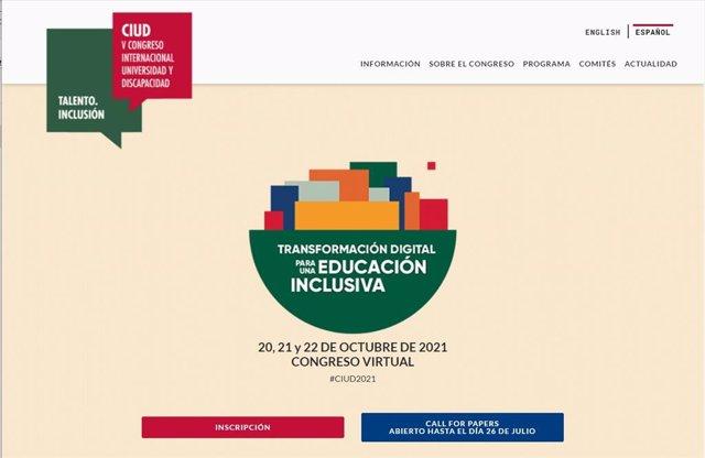 Fundación ONCE celebra su V Congreso Internacional Universidad y Discapacidad del 20 al 22 de octubre de 2021