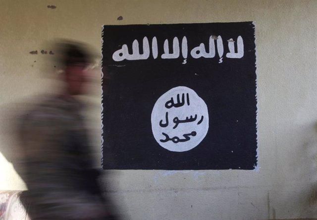 Archivo - Bandera de Estado Islámico