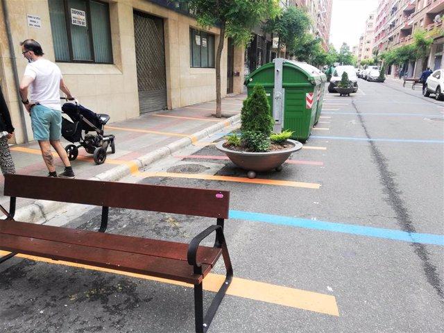 Archivo - Calle Fundición, una de las vías en las que se actuó con 'Calles Abiertas'