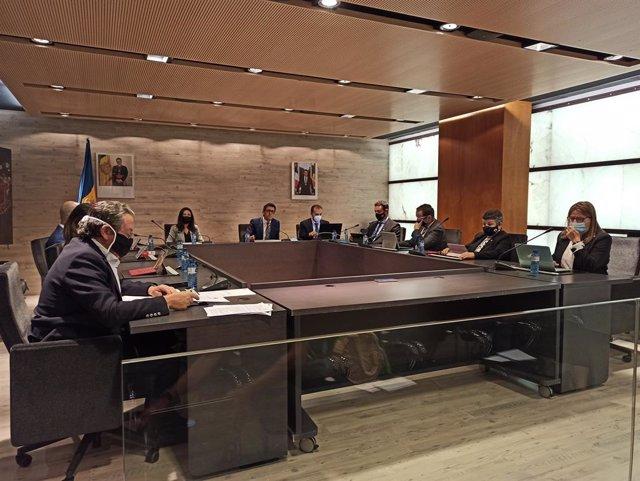 Sessió extraordinària del Consell de Comú d'Ordino