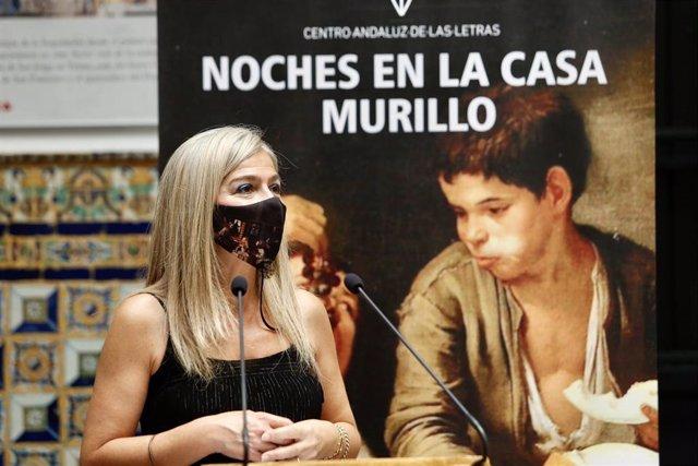 Del Pozo presenta la edición de Noches en la Casa Murillo, en foto de archivo.