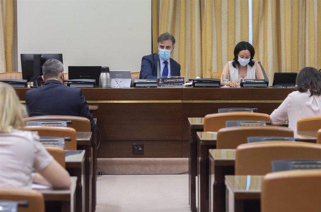 El secretario de Estado de Migraciones, Jesús Javier Perea