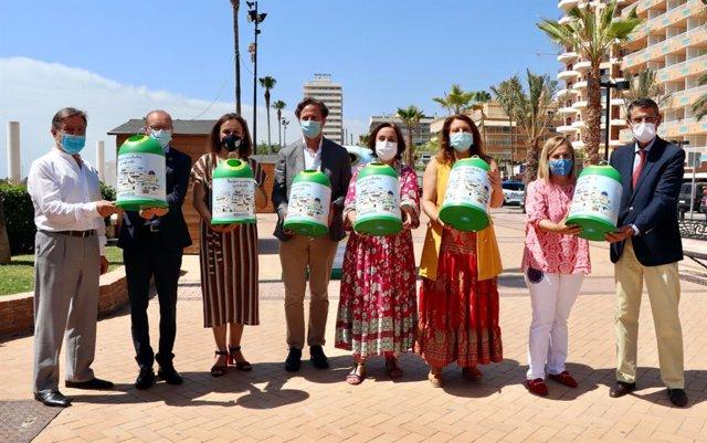Presentación de Banderas Verde que organiza Ecovidrio para reconocer el compromiso de los municipios y establecimientos hosteleros con el reciclaje de envases de vidrio