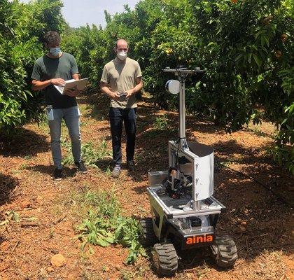 Ainia desarrolla un dispositivo para teledetectar y diagnosticar  enfermedades, plagas o daños en cultivos a tiempo real