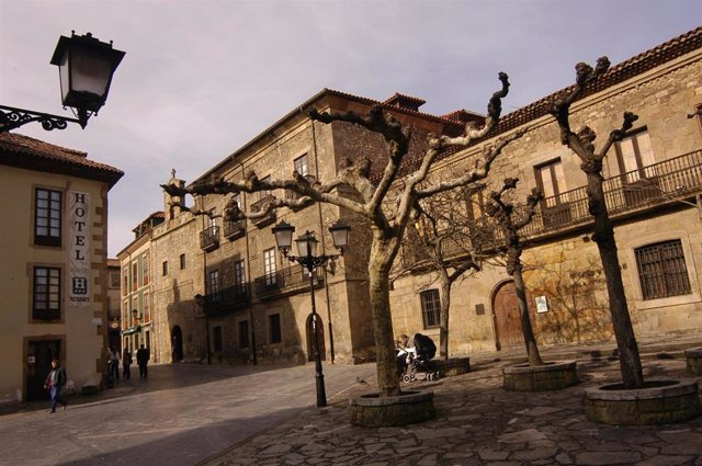 Archivo - Casa natal de Jovellanos en Gijón (Asturias)