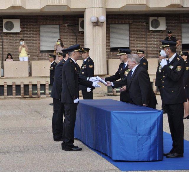 Acto de jura del cargo de la XXIX promoción de Escala de Subinspección de la Policía Nacional