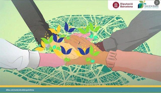 La Diputació de Barcelona presenta el nou Pacte de les alcaldies pel clima i l'energia per assolir la neutralitat climàtica el 2050