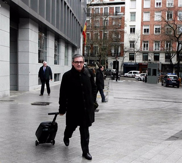 Archivo - Jordi Pujol Ferrusola llega a la Audiencia Nacional