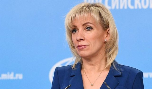Archivo - Portavoz Ministerio de Exteriores ruso, María Zajárova