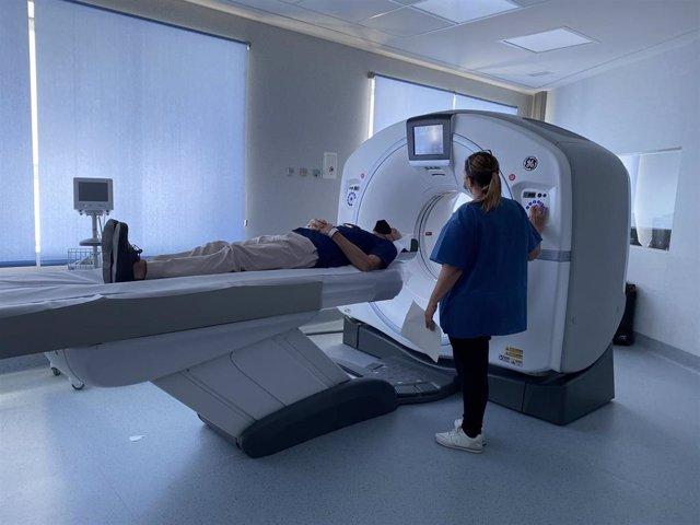 Nuevo TAC en las urgencias del Hospital Regional de Málaga
