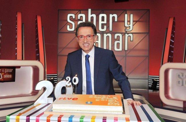 Archivo -    Saber y Ganar celebra sus 20 años en La 2 de TVE con un directo con los concursantes 'bicentenarios' que han llegado a los 200 programas, con público en directo y pruebas pensadas exclusivamente para esta fecha histórica