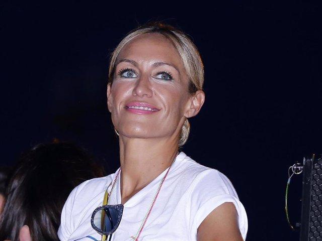 Archivo - Imagen de archivo de una sonriente Luján Argüelles