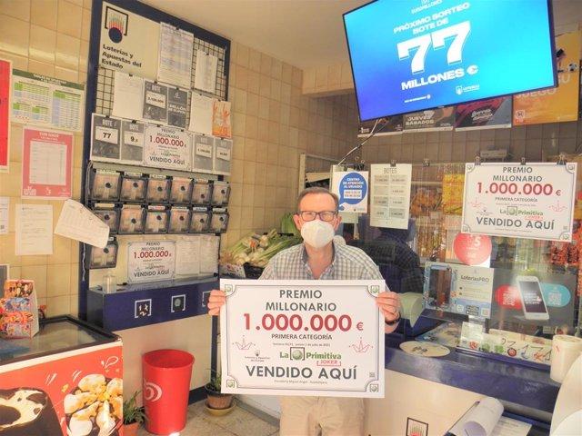 Despacho de Guadalajara que ha validado un premio de un millón de euros en el sorteo de El Joker de este jueves, 1 de julio