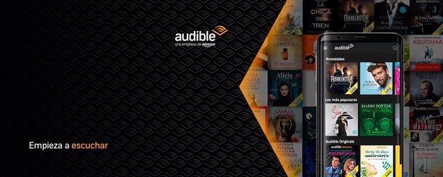 Vodafone dará cuatro meses de Audible, el servicio de podcast de Amazon