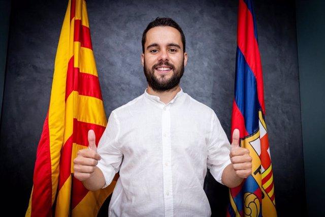 El entrenador del Barça Femení para la temporada 2021/22, Jonatan Giráldez, que hasta ahora había sido ayudante de Lluís Cortés