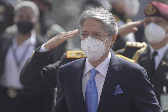 Archivo - El presidente de Ecuador, Guillermo Lasso.