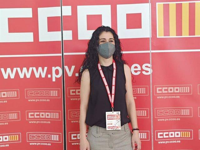 Ana García, responsable de Formación y Empleo de CCOO PV