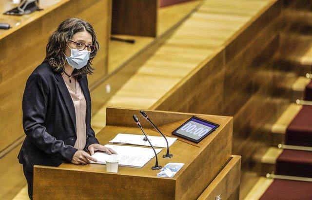 Archivo - La vicepresidenta de la Generalitat, Mónica Oltra