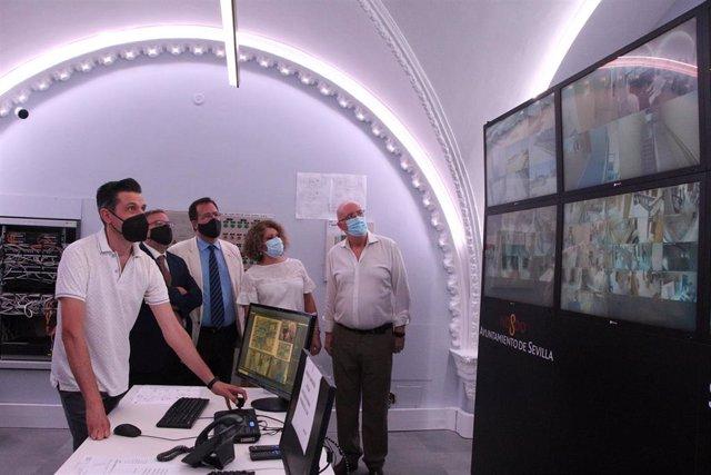 Cabrera y Castaño, con el sistema de videovigilancia