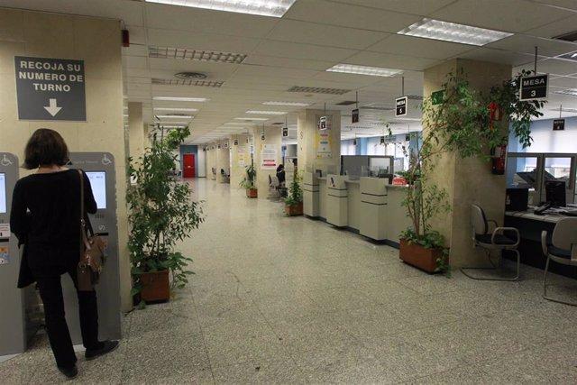Archivo - Oficina de la Agencia Tributaria