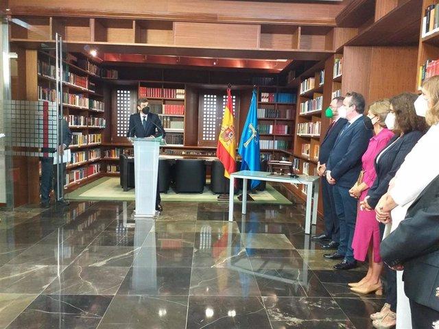 Toma de posesión de  Pablo Baquero Sánchez como nuevo vocal del Consejo Consultivo del Principado de Asturias