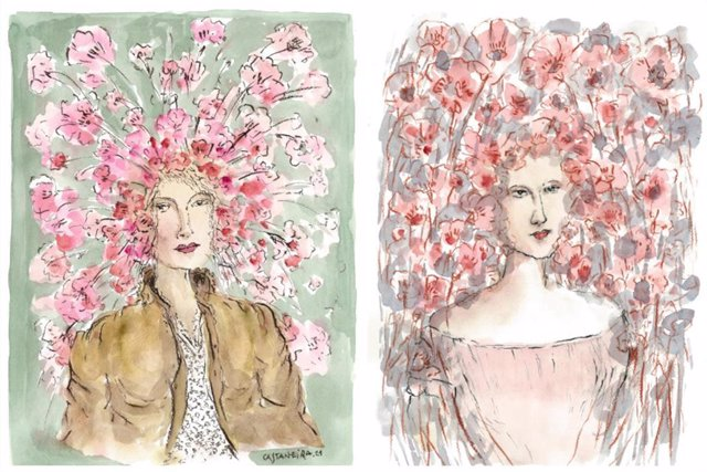 Imagen de la exposición 'Mujeres de Almagro'