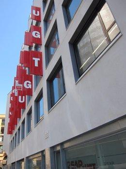 Archivo - Sede de UGT de Catalunya en Barcelona