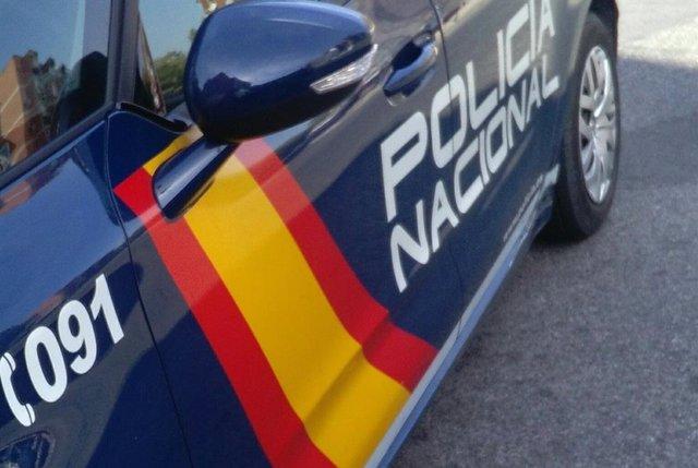 Archivo - Arxiu - Imatge d'un cotxe patrulla de la Policia Nacional