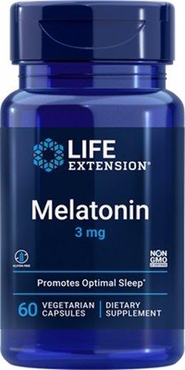 Archivo - Imagen Del Producto Melatonin 3 Mg Cápsulas