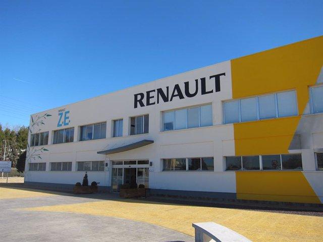 Archivo - Renault Valladolid.
