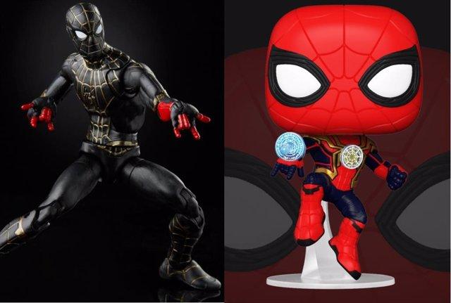 Spider-Man No Way Home: Imágenes oficiales del traje negro de Tom Holland y... ¿Una variante del Doctor Strange?
