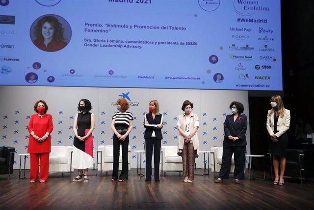 Women Evolution reconoce a mujeres referentes en diversos ámbitos profesionales en los premios We Leadership Awards