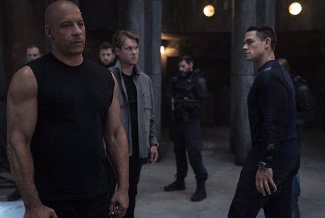 Vin Diesel y John Cena en Fast and Furious 9