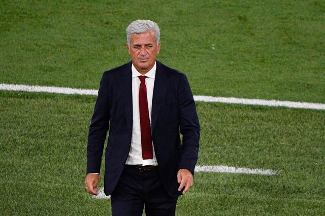 Vladimir Petkovic coach of Switzerland during the UEFA Euro 2020, Group A football match between Italy and Switzerland on June 16, 2021 at the Olimpico Stadium in Rome, Italy - Photo Fabrizio Corradetti / LiveMedia / DPPI