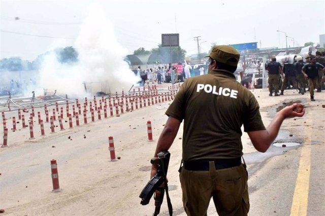 Archivo - Imagen de archivo de la Policía paquistaní