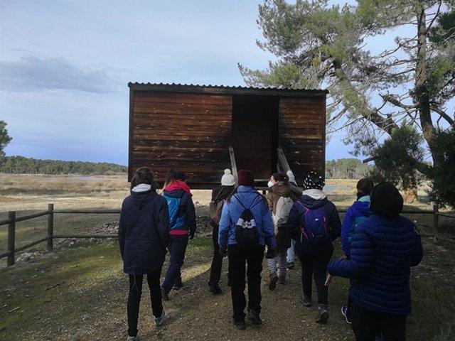 Participantes en el curso de monitor de ocio y tiempo libre celebrado en Cantalejo (Segovia).