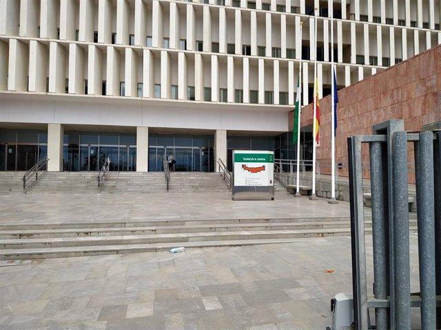 Archivo - Ciudad de la Justicia de Málaga. Fachada
