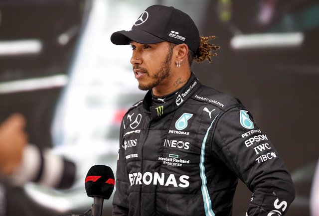 HAMILTON Lewis (gbr), Mercedes AMG F1 GP W12 E Performance, portrait during the Formula 1 Grosser Preis Der Steiermark 2021, 2021 Styrian Grand Prix, 8th round of the 2021 FIA Formula One World Championship from June 25 to 27, 2021 on the Red Bull Ring, i
