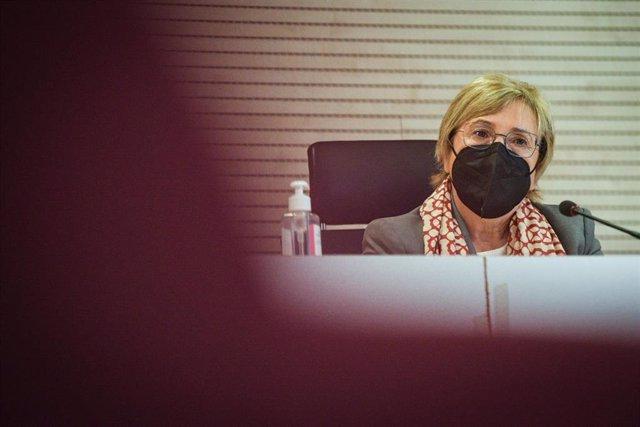 Archivo - La consellera de Sanidad Universal y Salud Pública, Ana Barceló, en una imagen de archivo